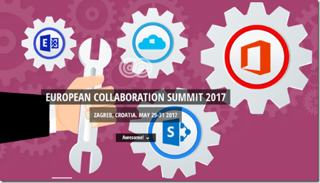 European Collaboration Summit 2017, Zagreb