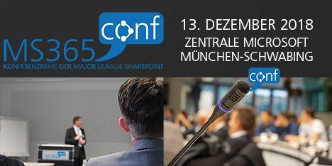 Live Event #10 – Major League Sharepoint Konferenz am 13.12.2018 in München